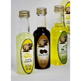 Licores 21508 (50ml) El sabor se deberá especificar en el campo de observaciones a la hora de finalizar el pedido.