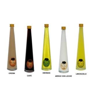 Botella mini Teresa 17,5 cm. 4 cl.