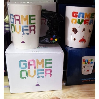 "Taza ""Game Over"" para regalar en bodas"