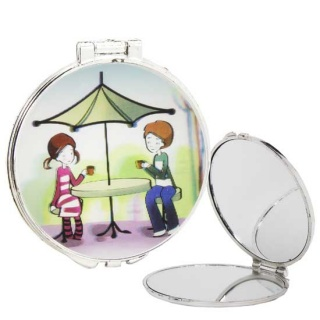 Espejo redondo niños sombrilla