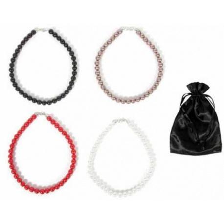 Collar de perlas surtidas