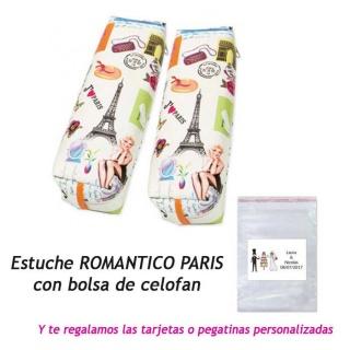Estuche romántico París, regalo de Boda en Outlet