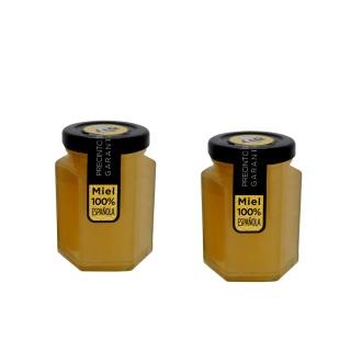 Bote de miel para detalles de boda