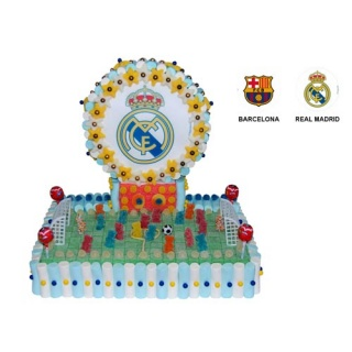 Tarta campo de fútbol oblea (2000 gr.)