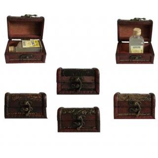 Baúl de madera para regalo