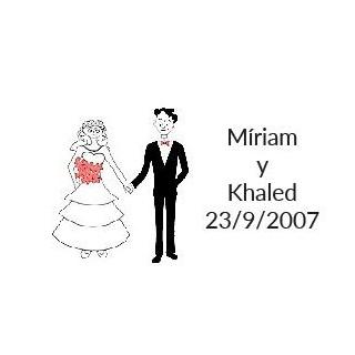 tarjetas boda original