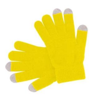 guantes amarillos para iphone y ipad