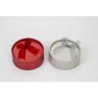 Caja 8cm roja/gris para pulseras (precio unidad)