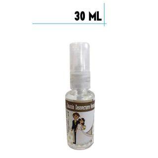Bote de Hidrogel Desinfectante con Spray, 30 ml plástico