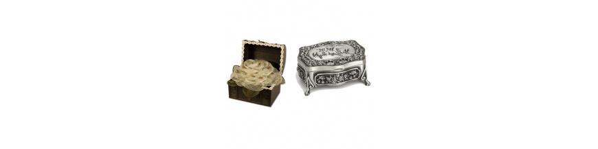 Baúles de madera y cofres regalos boda