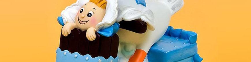 Figuras tartas para nacimiento